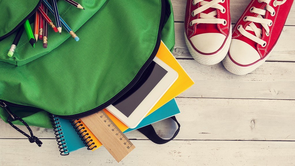 4 Easy Pieces to Getting Organized for School